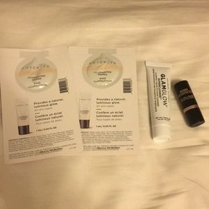 Nudestix highlighter with gifts mini new